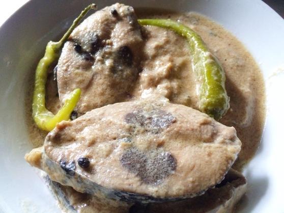 Bicol Dish: Ginataang Yellow Fin
